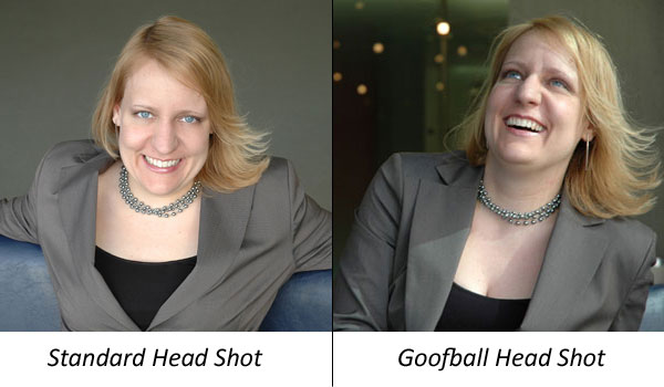 Can you take a goofball headshot seriously?